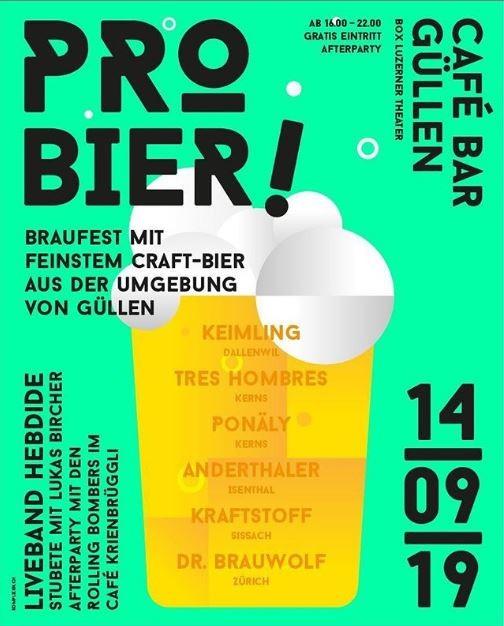 Pro-Bier  Braufest Luzern